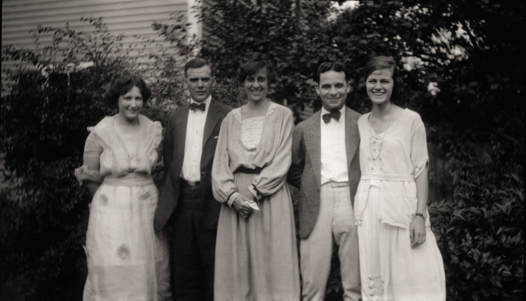 Friend, Will and Esther Bell, Hap and Laura A Bell Faber