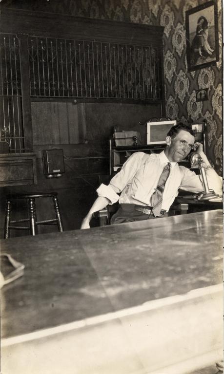 John Edward Griffith at work