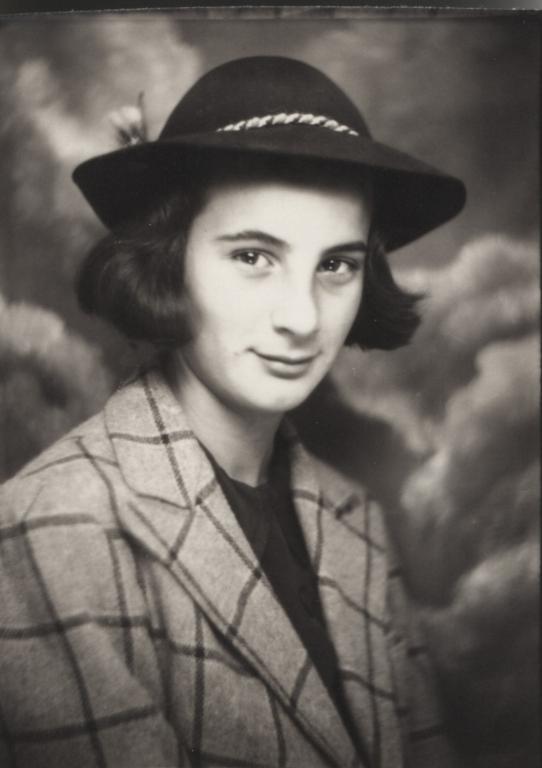 Joan Schneidman, age 13