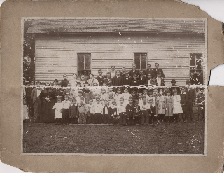 Students and faculty of Hendron School