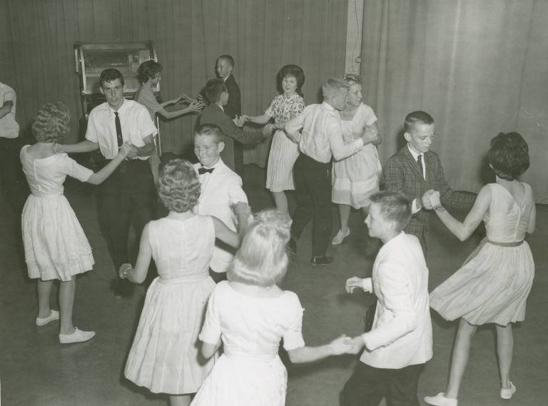Dance Party show in station studio