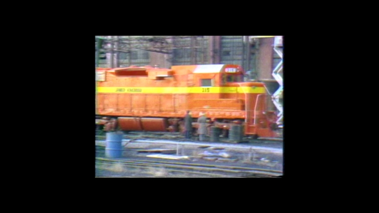 Illinois Cental Gulf shops rebuild engines for the Liberia Africa Mining Company