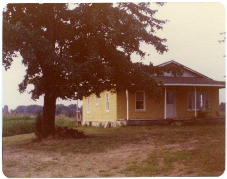 House on Louis Elliot Farm