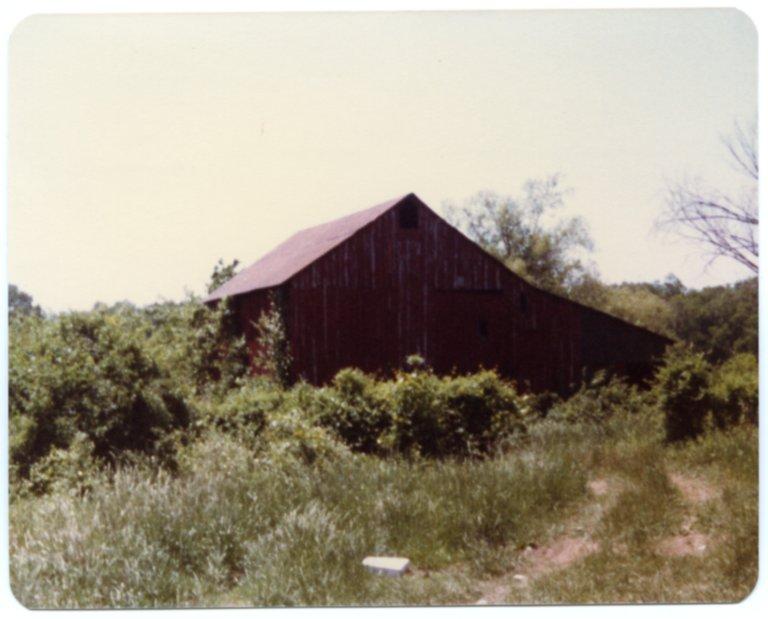 Red Barn on Fred Sisk Farm