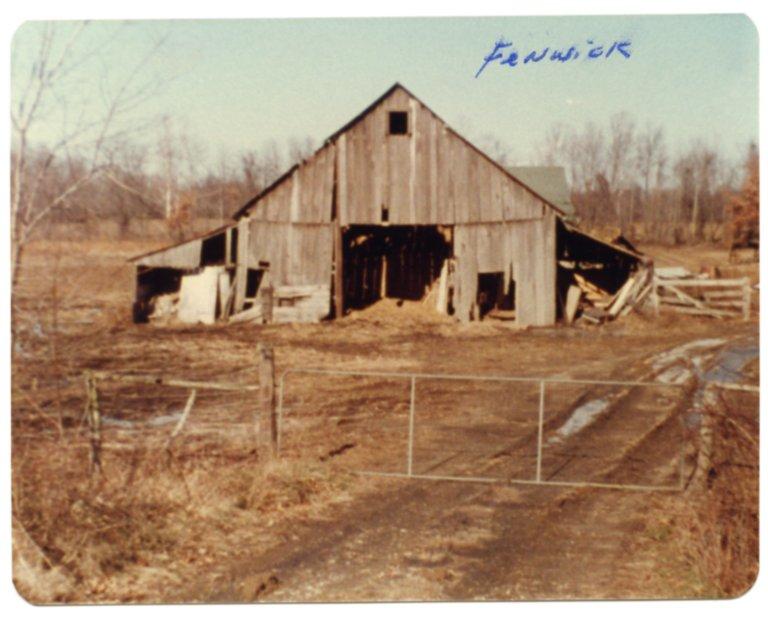 Barn on Jude Boyd's Fenwick Farm