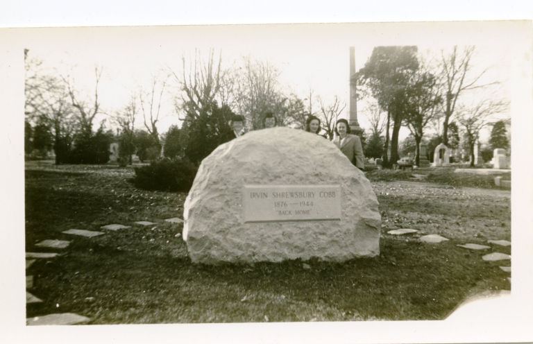 Wome by Irvin S. Cobb's Grave