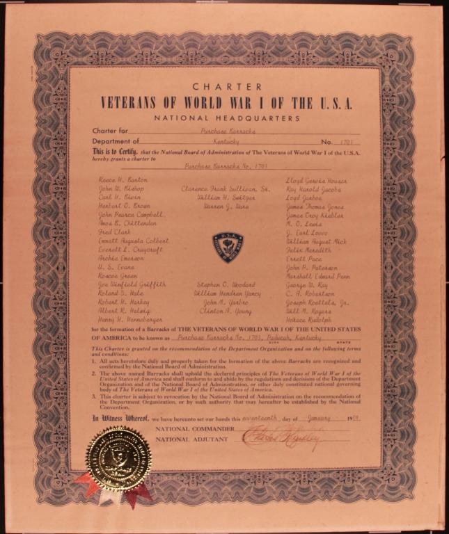 World War I Veterans Charter