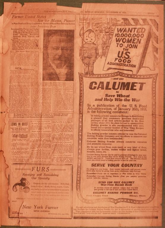 Paducah News-Democrat, Monday Morning, November 10, 1919
