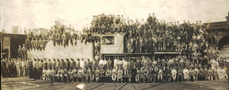 Illinois Central Railroad Shop
