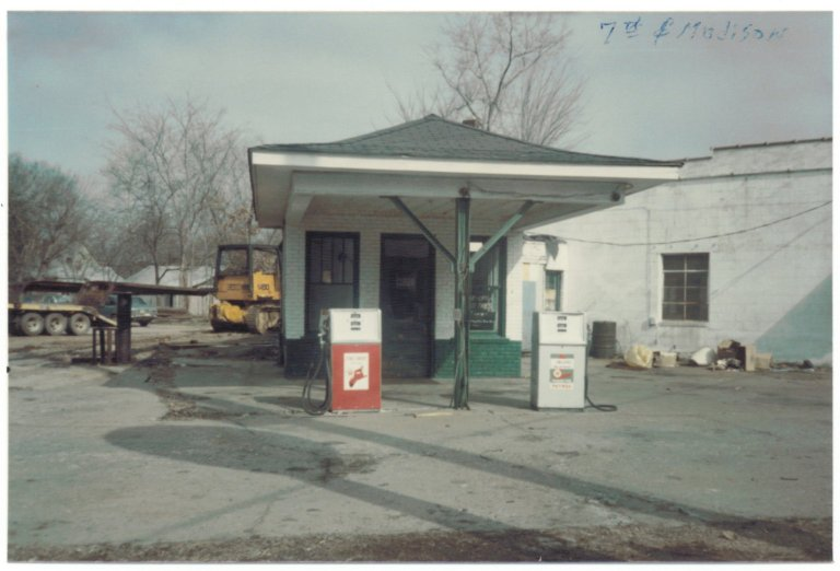 Seventh and Madison, Texaco Station