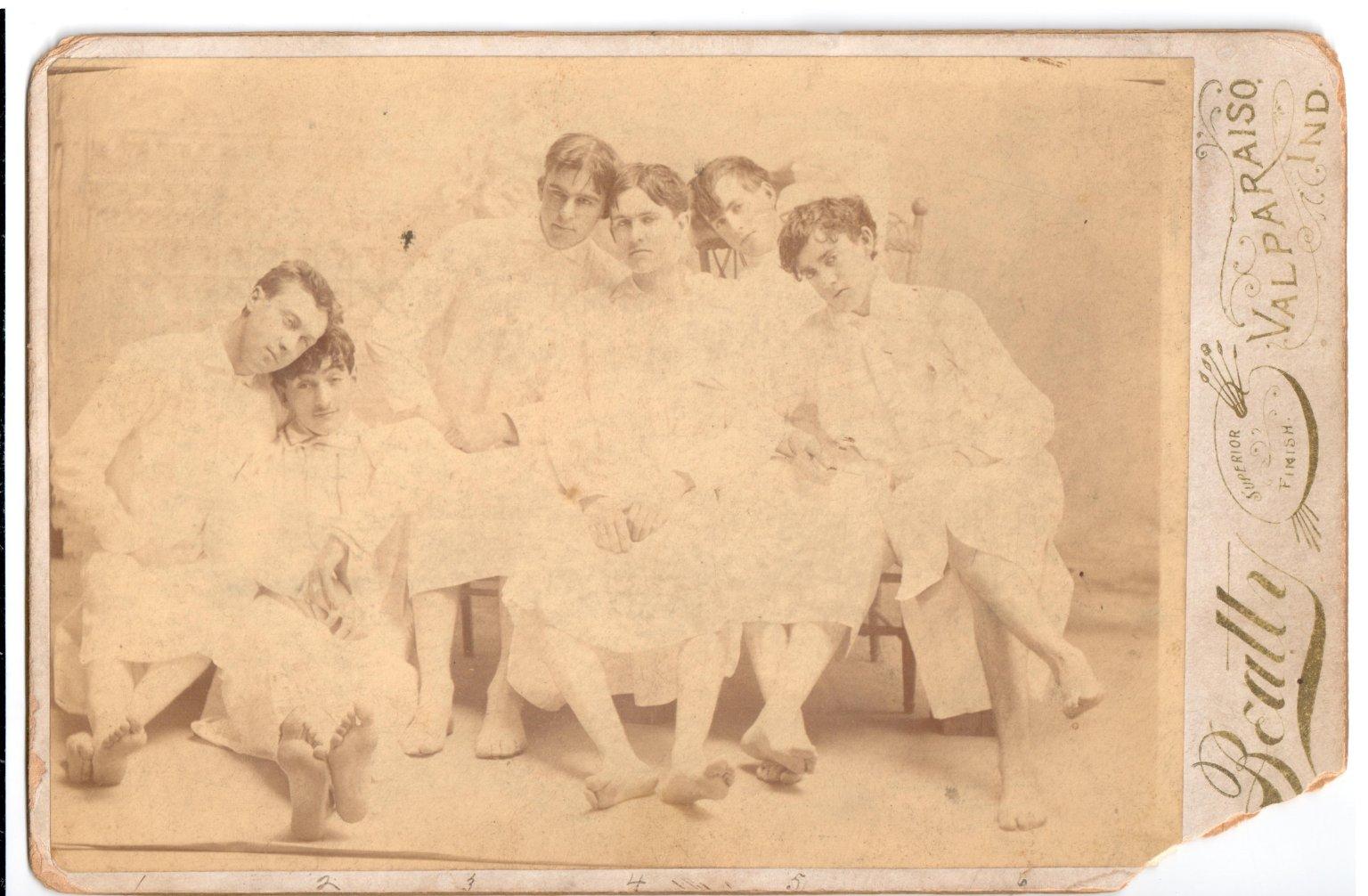Men in Gowns