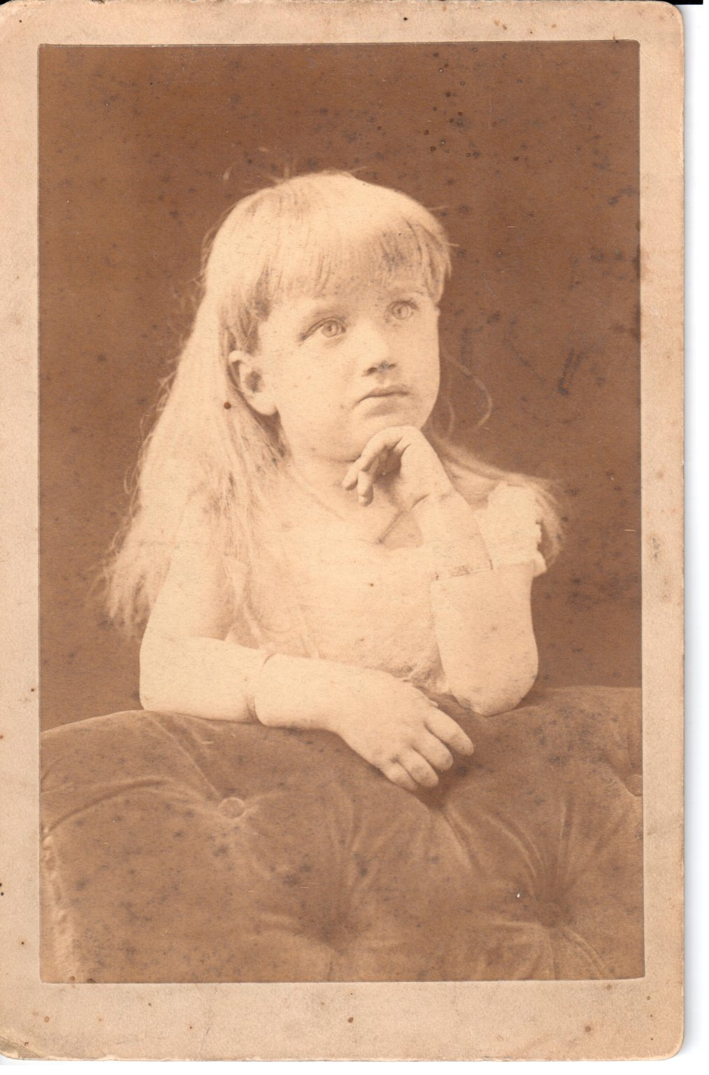 Little Girl With Bangs