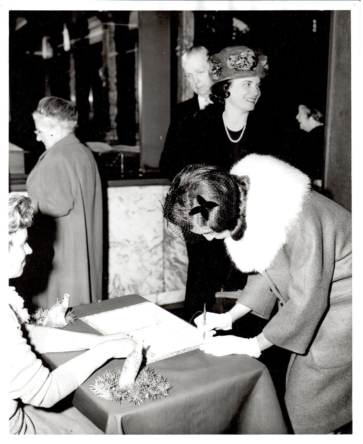 Harriett Boswell Guest Register