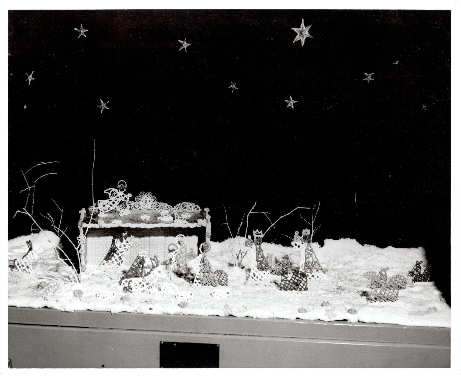 Harriett Boswell Christmas Scene