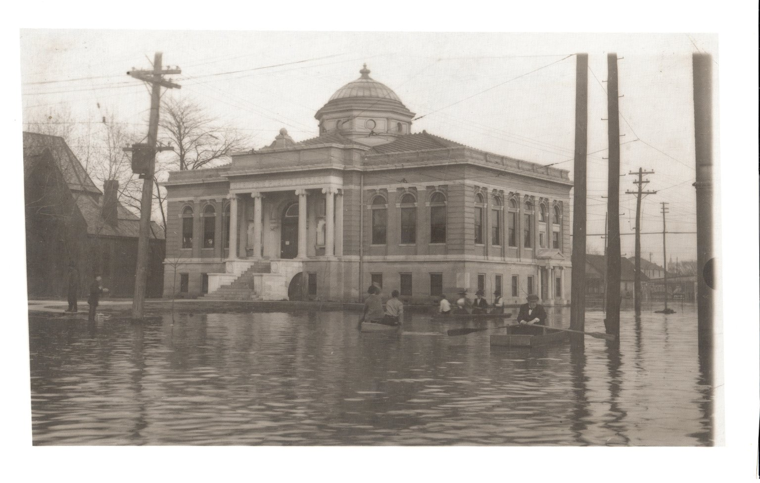 Carnegie Library and the 1913 Flood