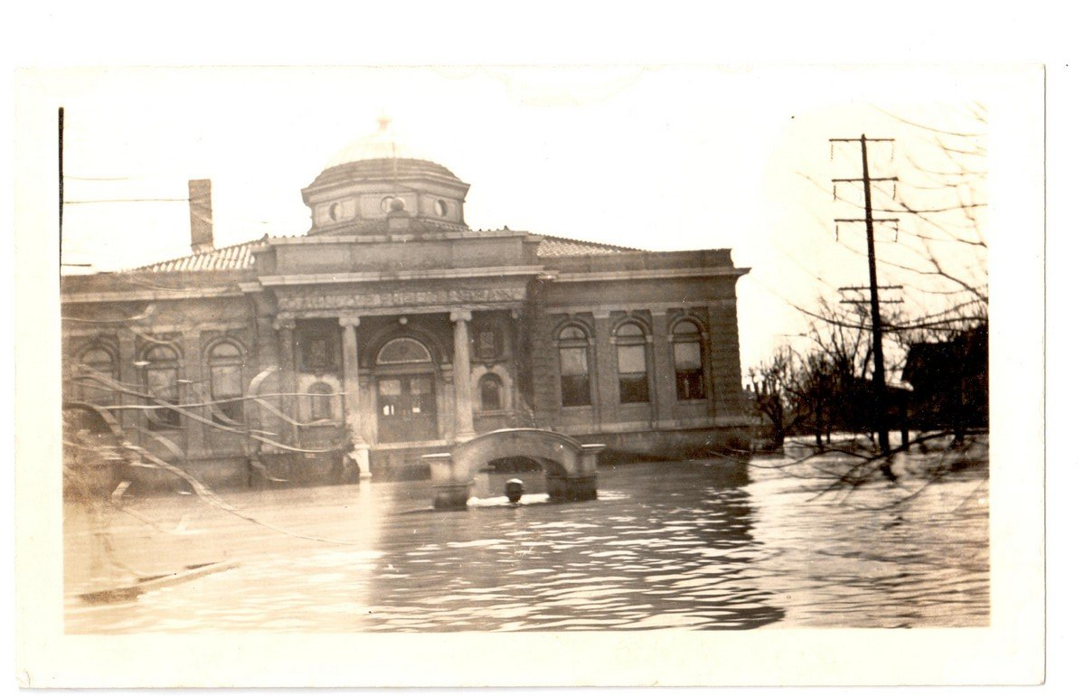 Carnegie Library 1937 Flood