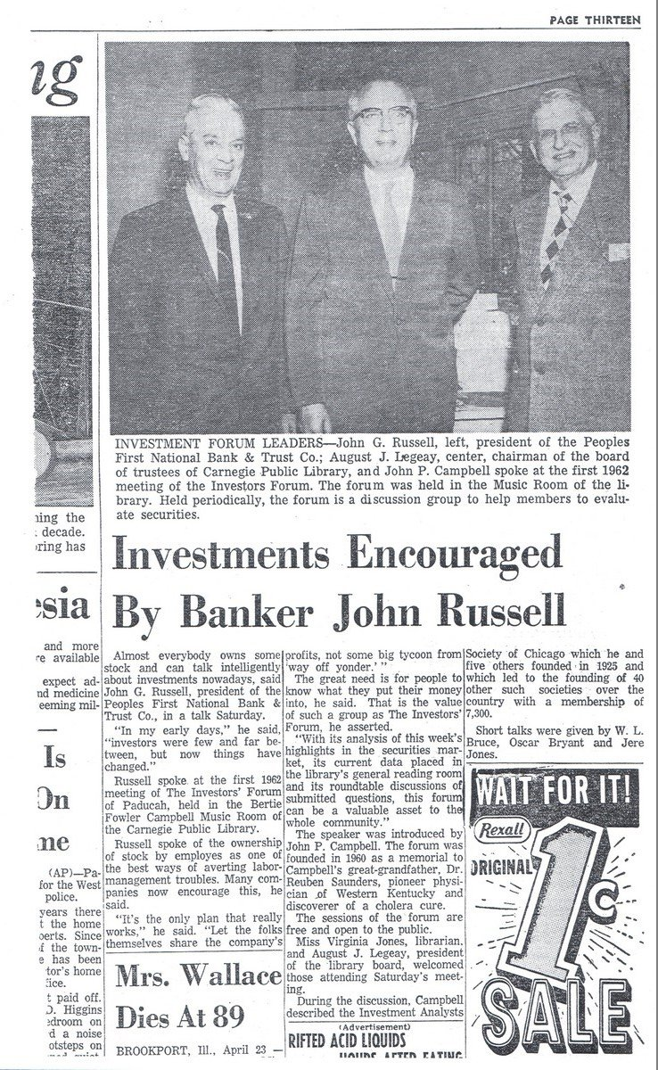 Carnegie Library Investors