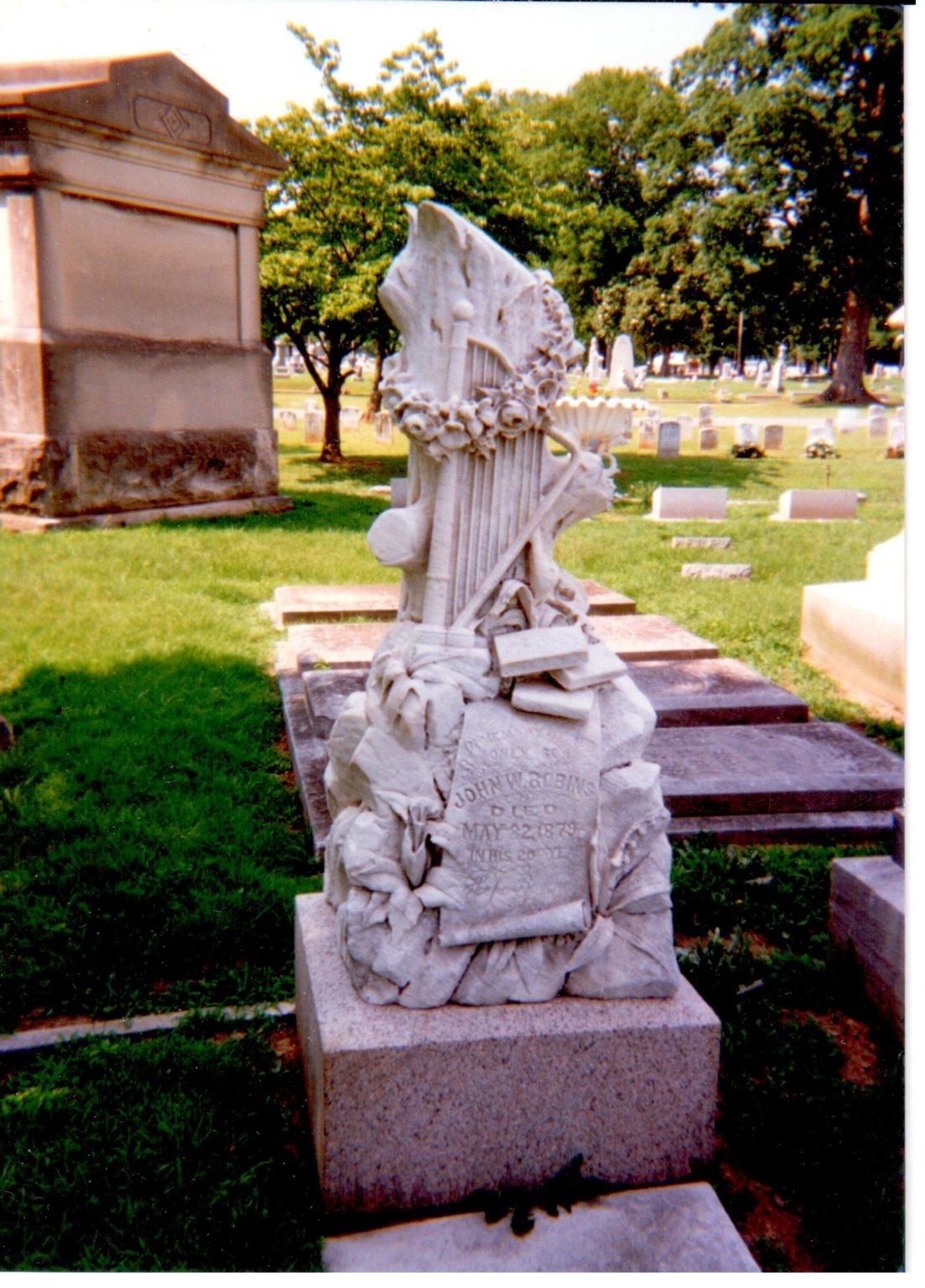 Oak Grove Cemetery, John W. Robins