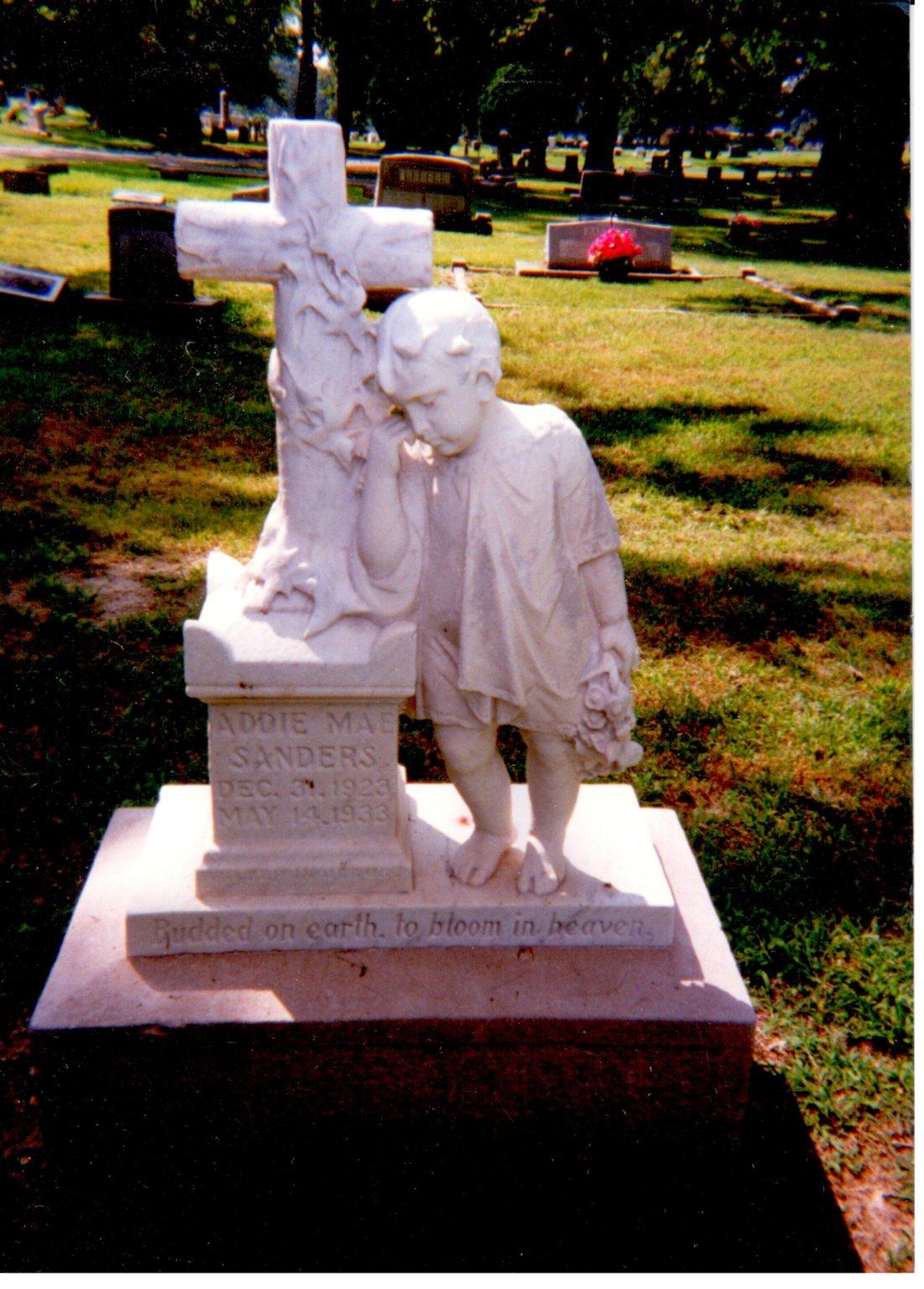Oak Grove Cemetery, Addie Mae Sanders