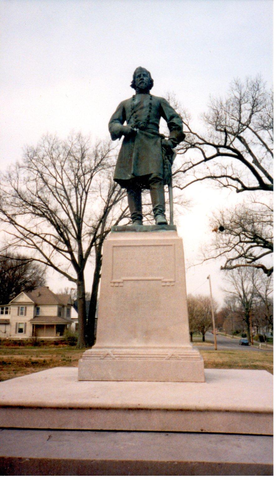 Statue of General Lloyd Tilghman