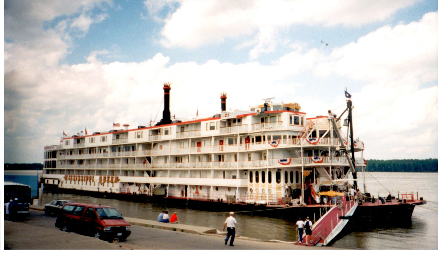 Mississippi Queen, Riverboat, Paducah