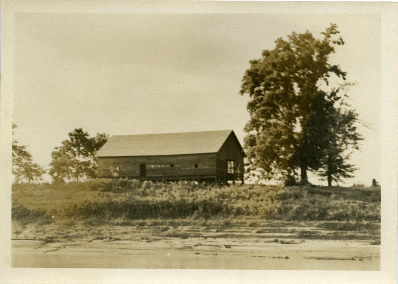 Rural Building Near Livingston Point