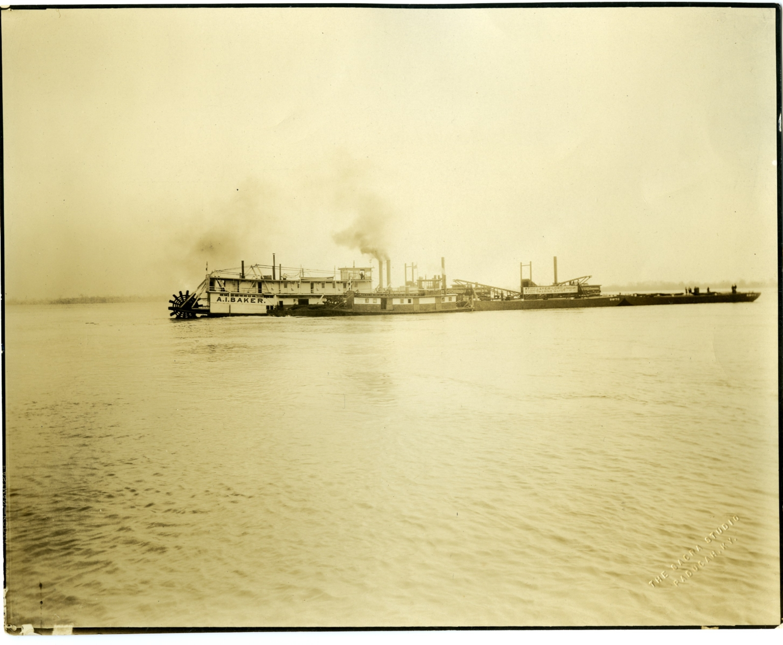 Ayer and Lord Tie Company Boats