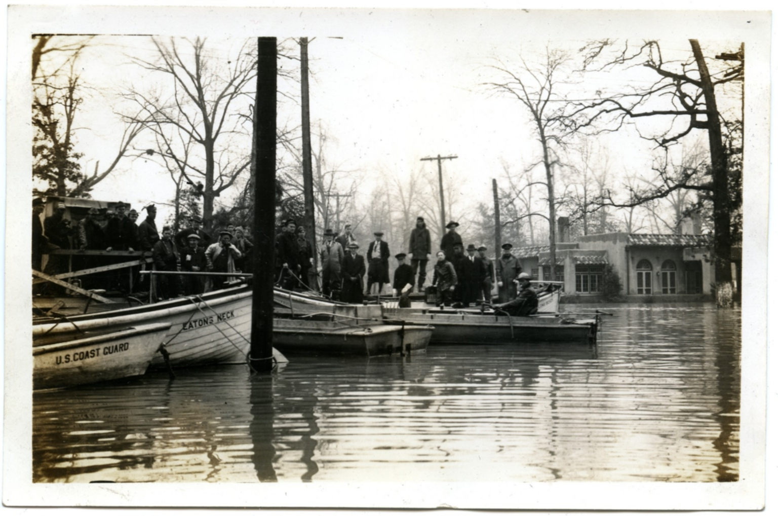 Coast Guard Rescue during the '37 flood.