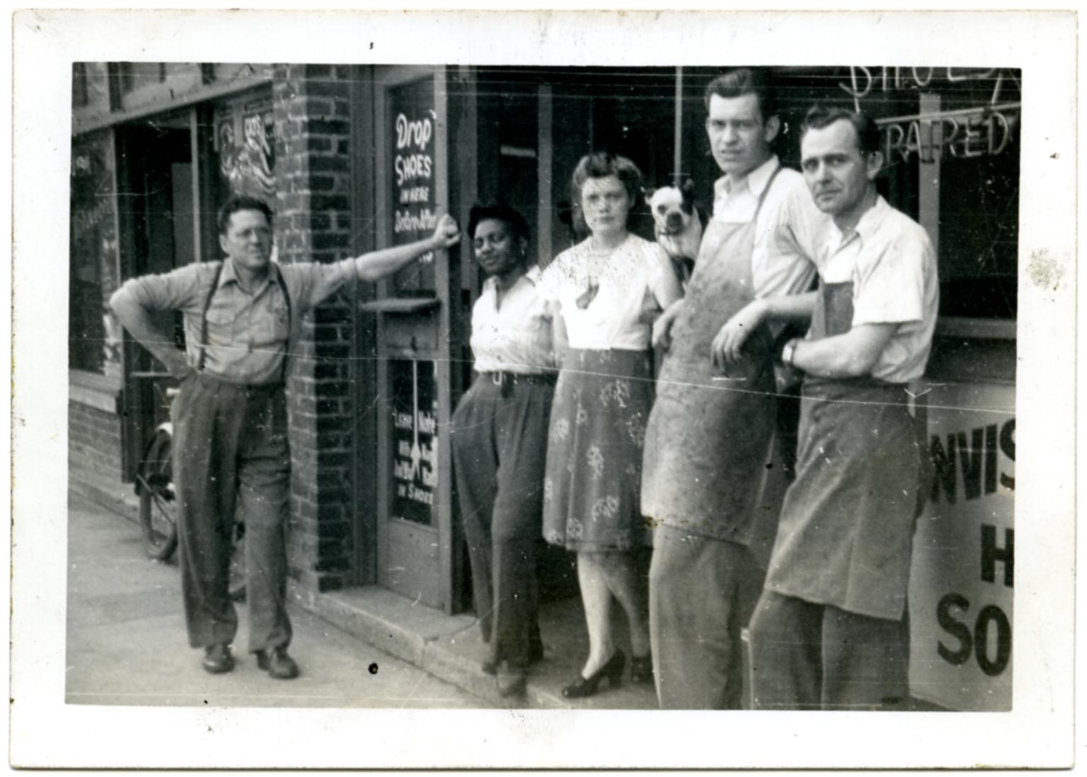Staff of Johnson Shoe Service