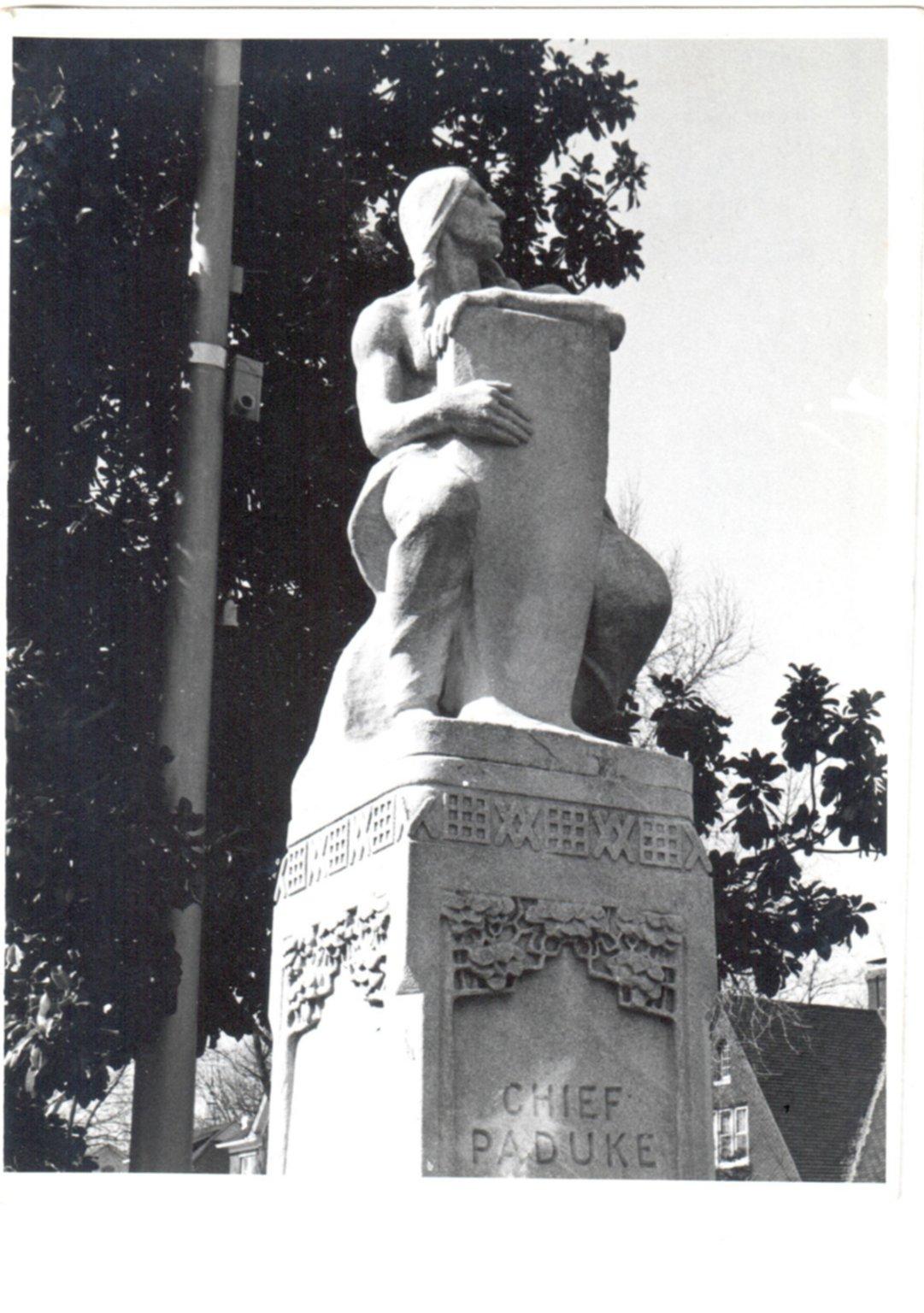 Statue of Chief Paduke