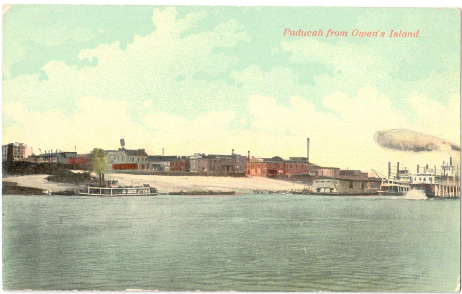 Paducah from Owen's Island.