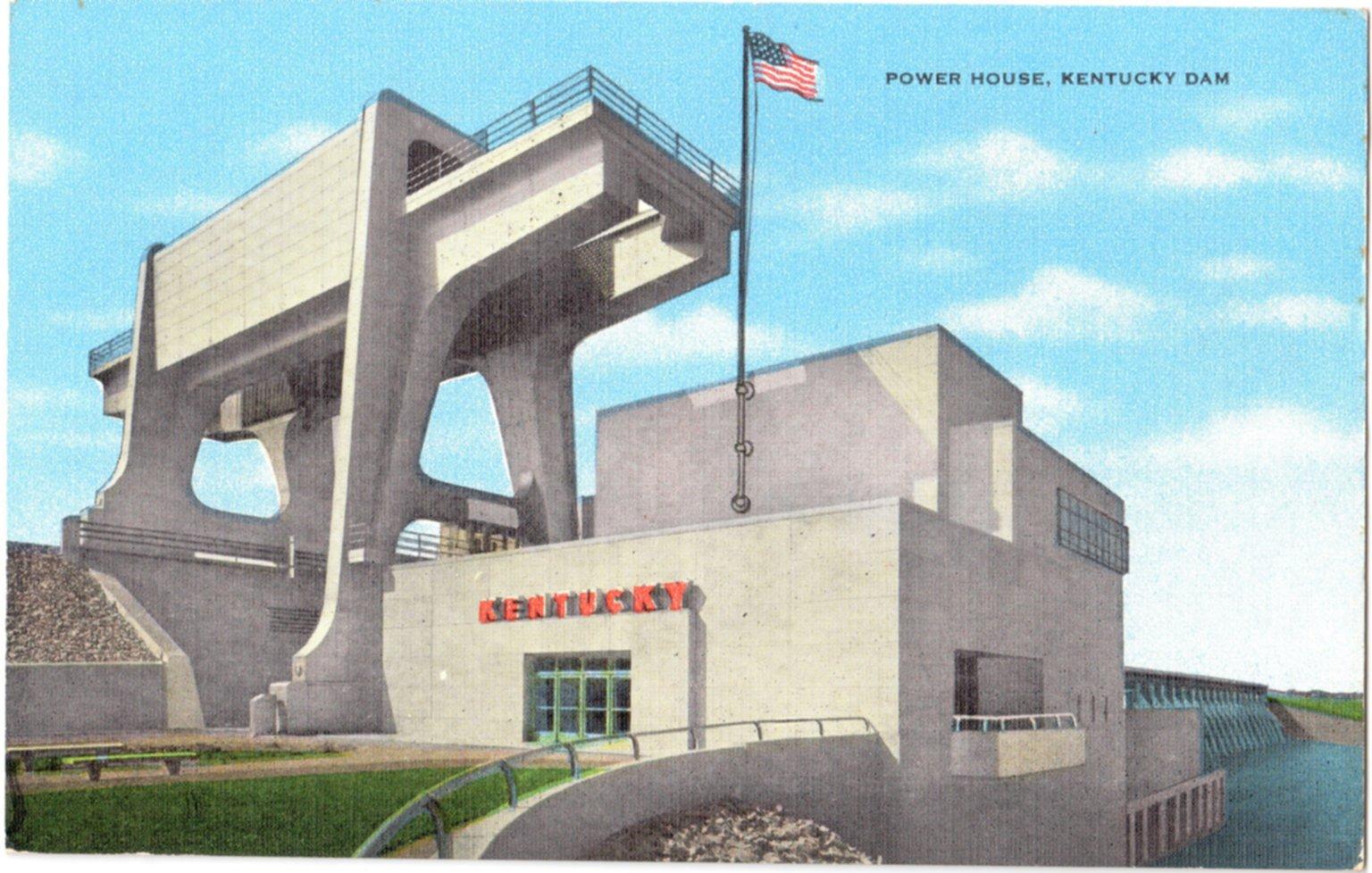 Power House, Kentucky Dam
