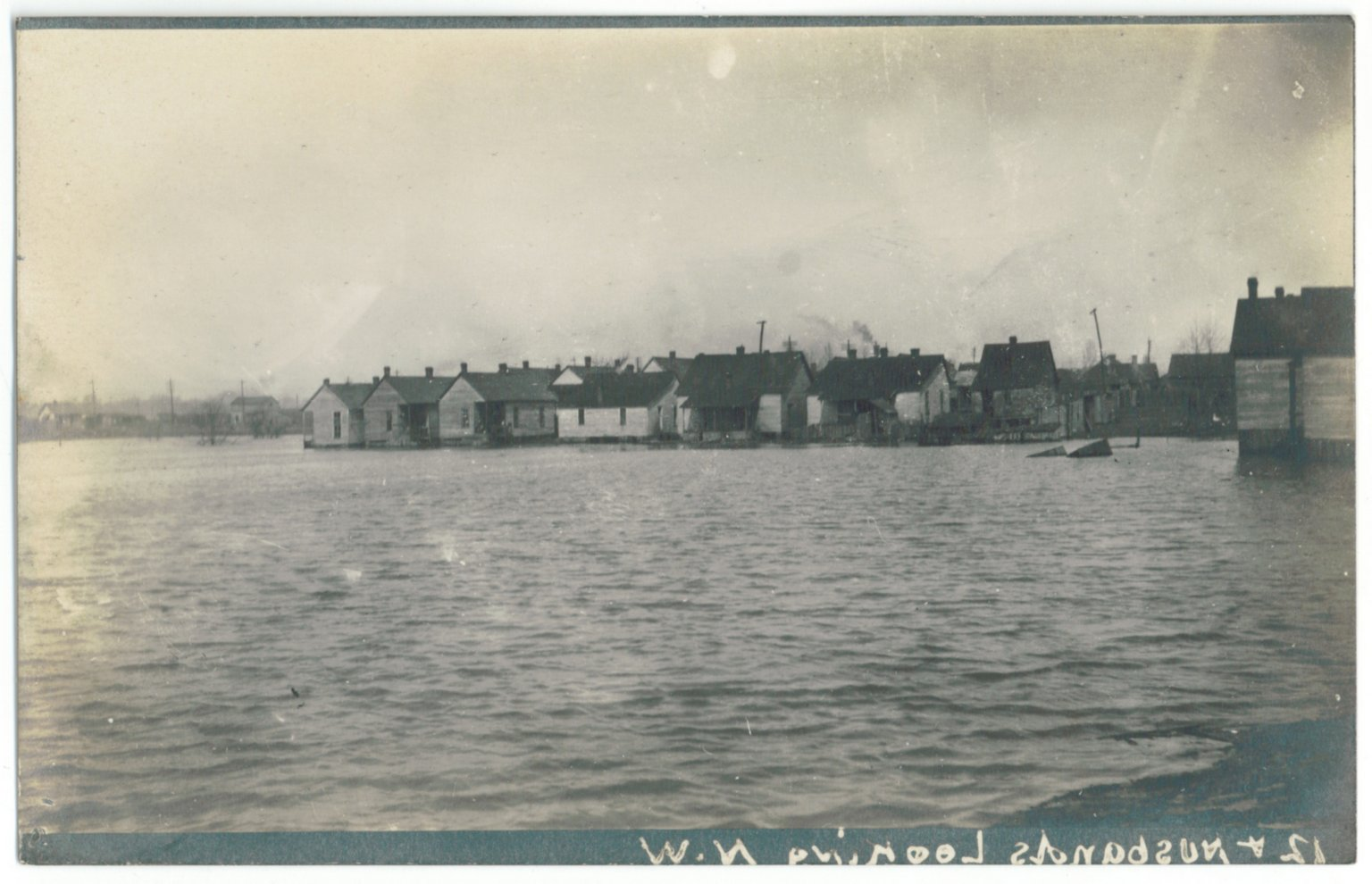 1913 Flood, 12th & Husbands N.W.