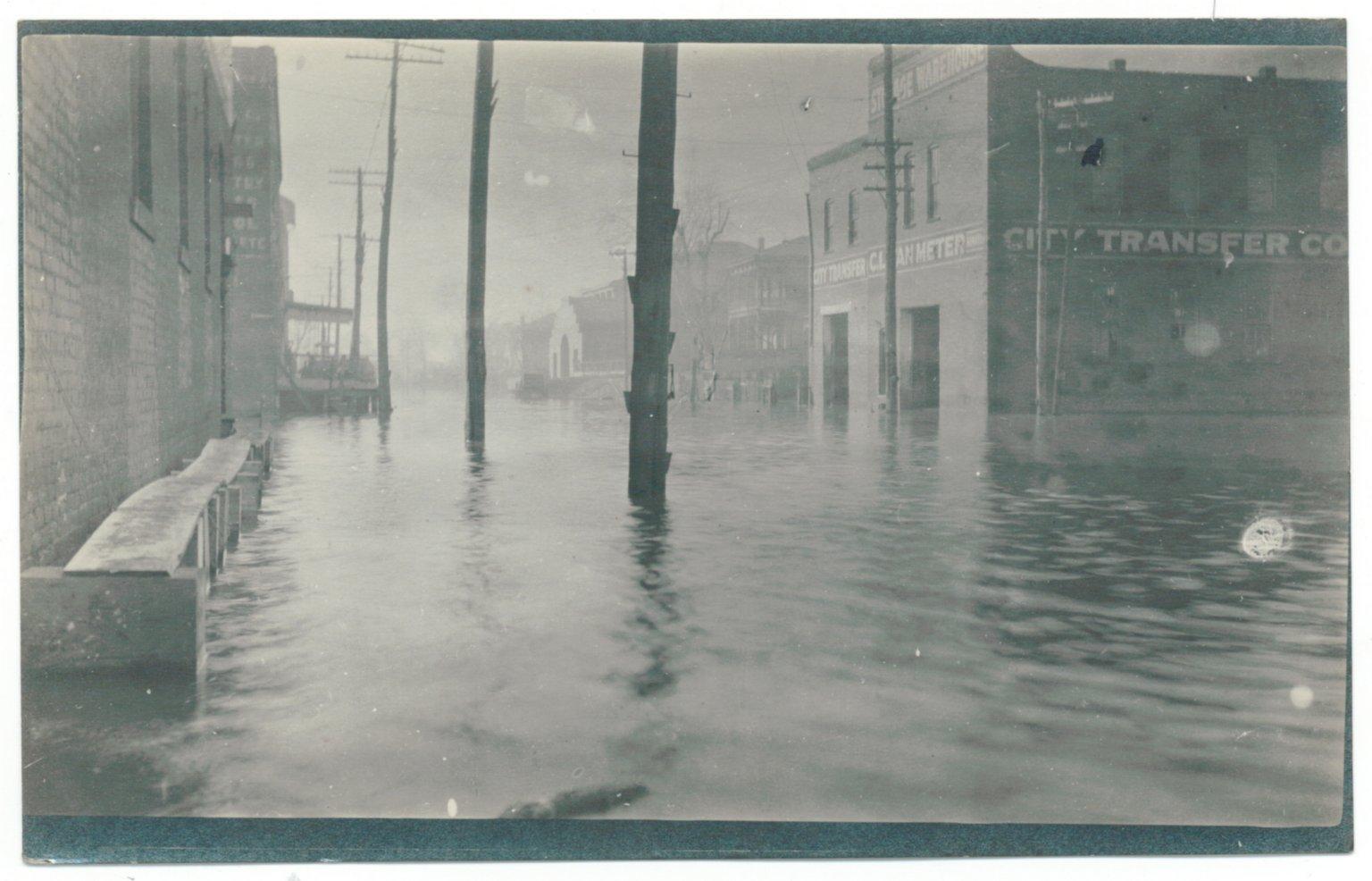 1913 Flood, 2nd & Washington