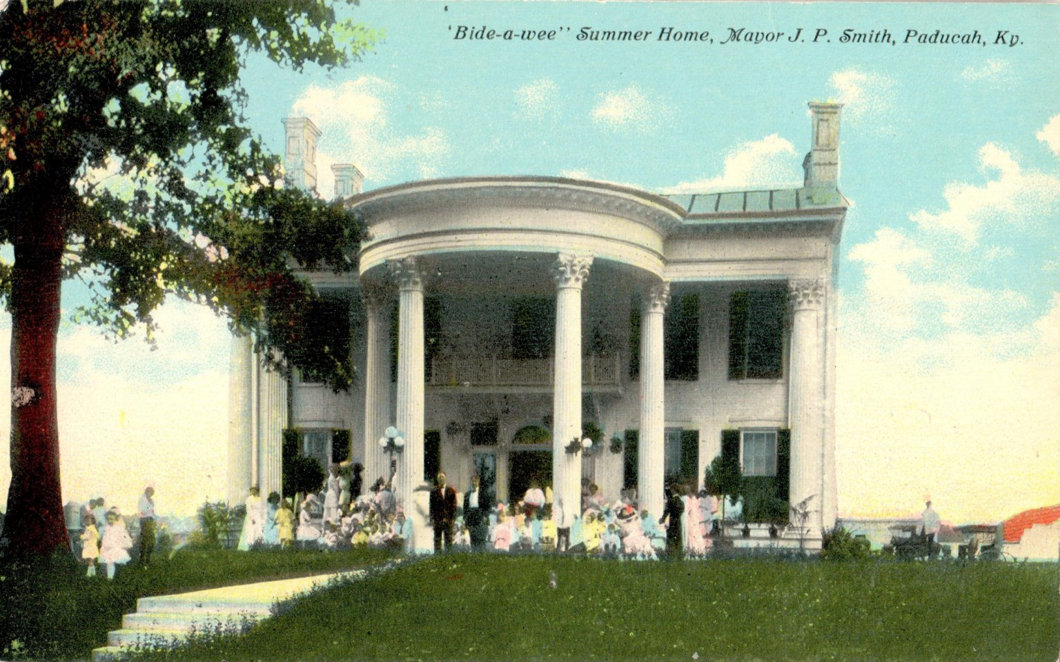 "Bide-a-wee"" Summer Home, Mayor J. P. Smith, Paducah, Ky."
