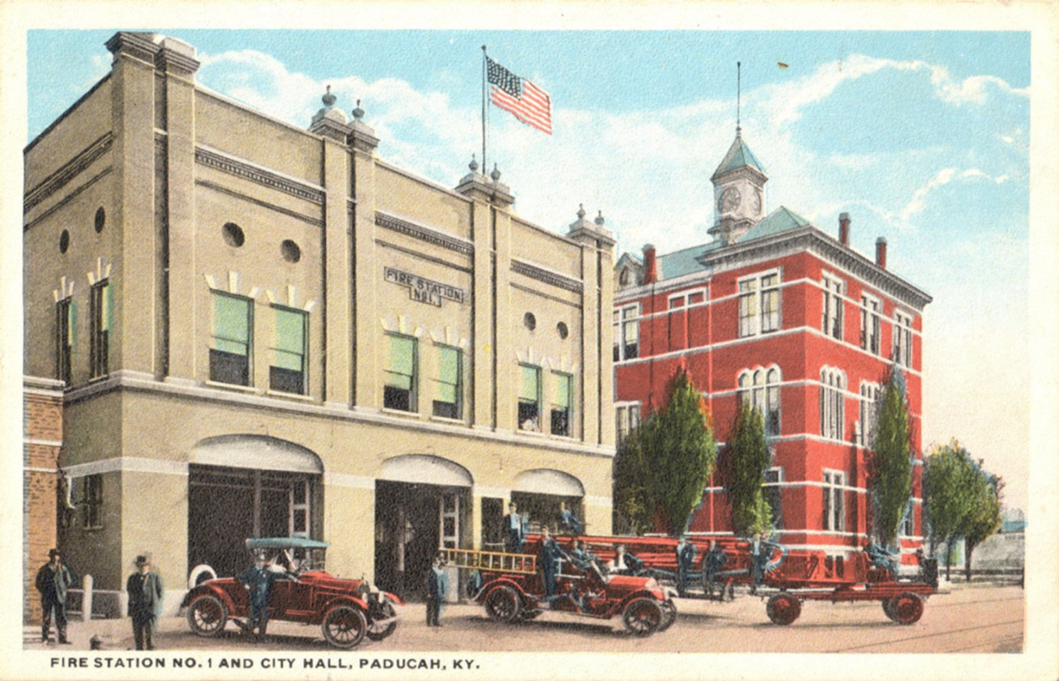 Fire Station No. 1 And City Hall, Paducah, KY.