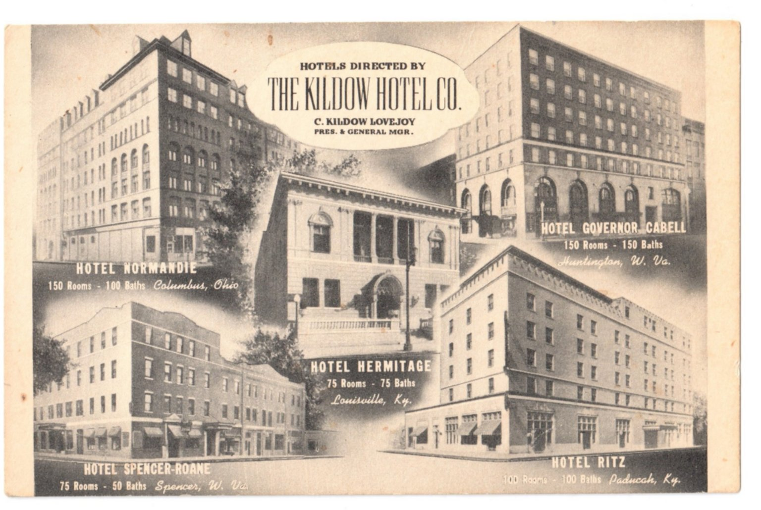 Hotels Directed by the Kildow Hotel Co.