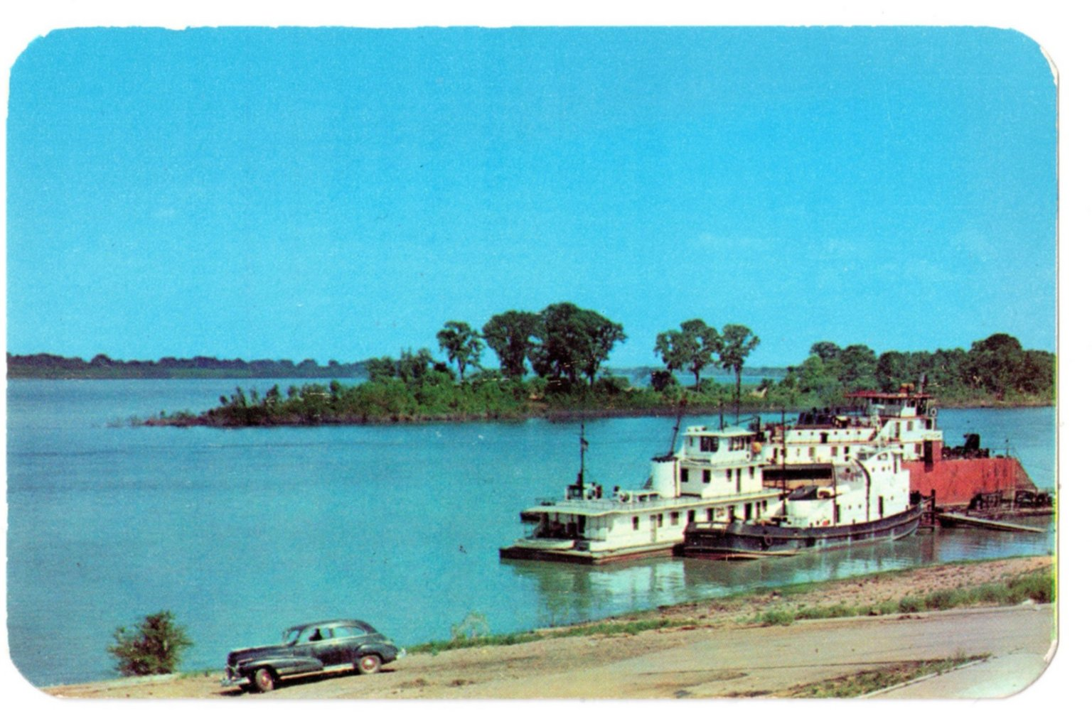 Junction of the Ohio and Tennessee Rivers, Paducah, KY