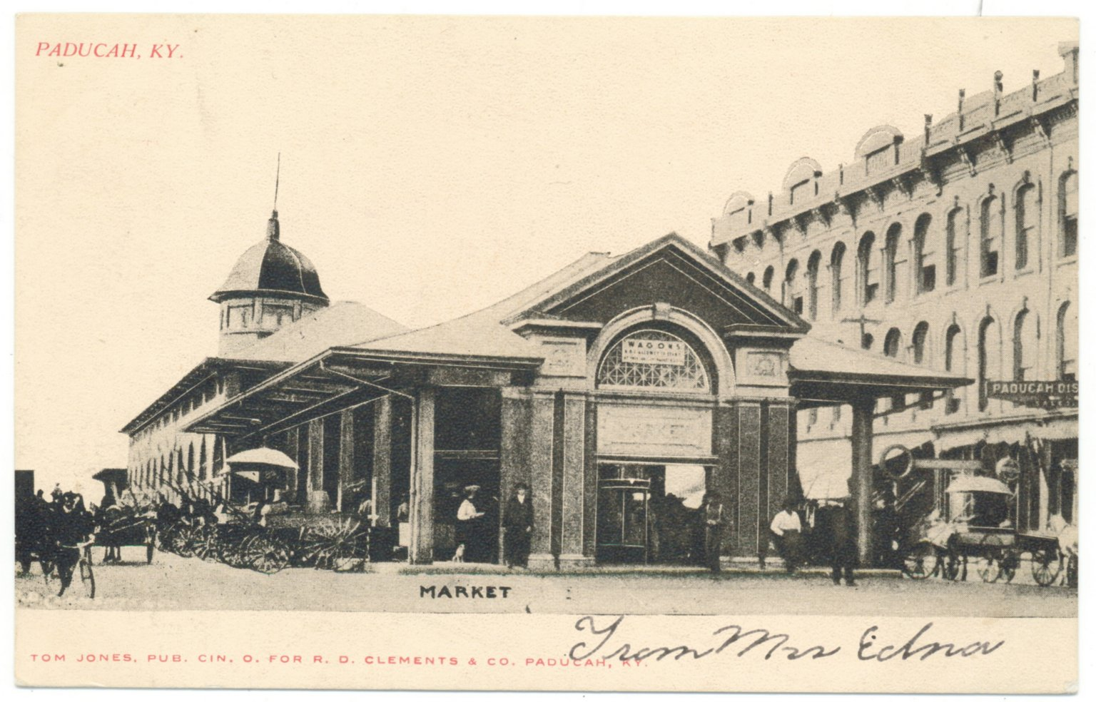 Market Building-Paducah, KY.
