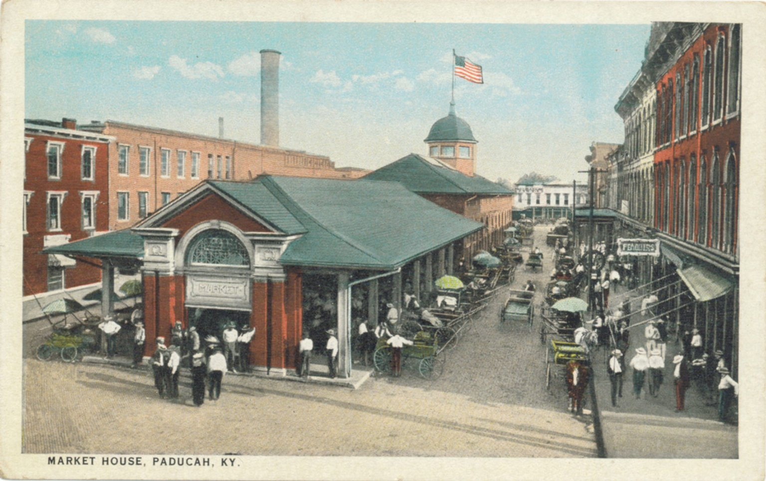 Market House, Paducah, KY.
