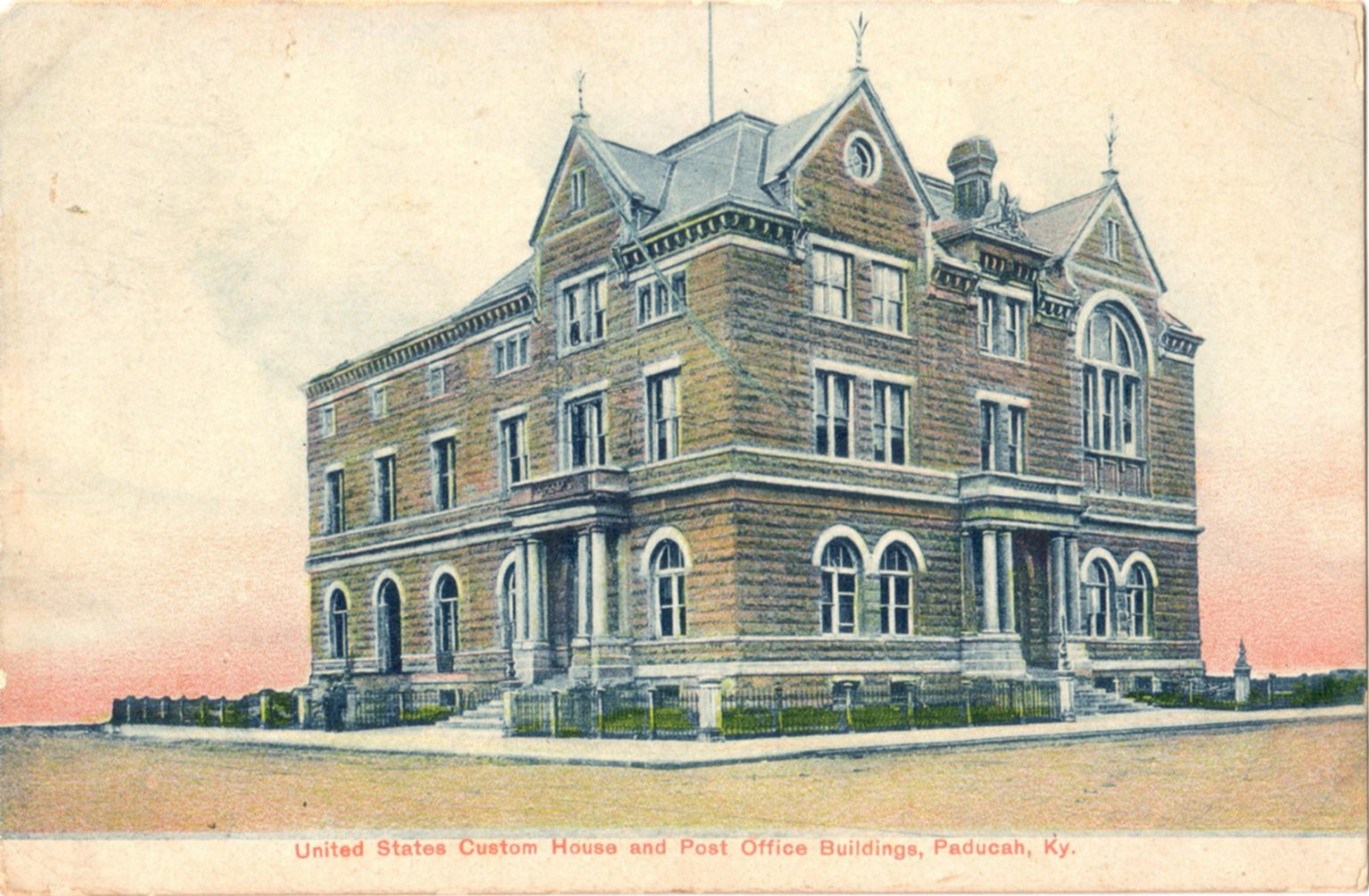 United States Custom, House and Post Office Buildings, Paducah, Ky.