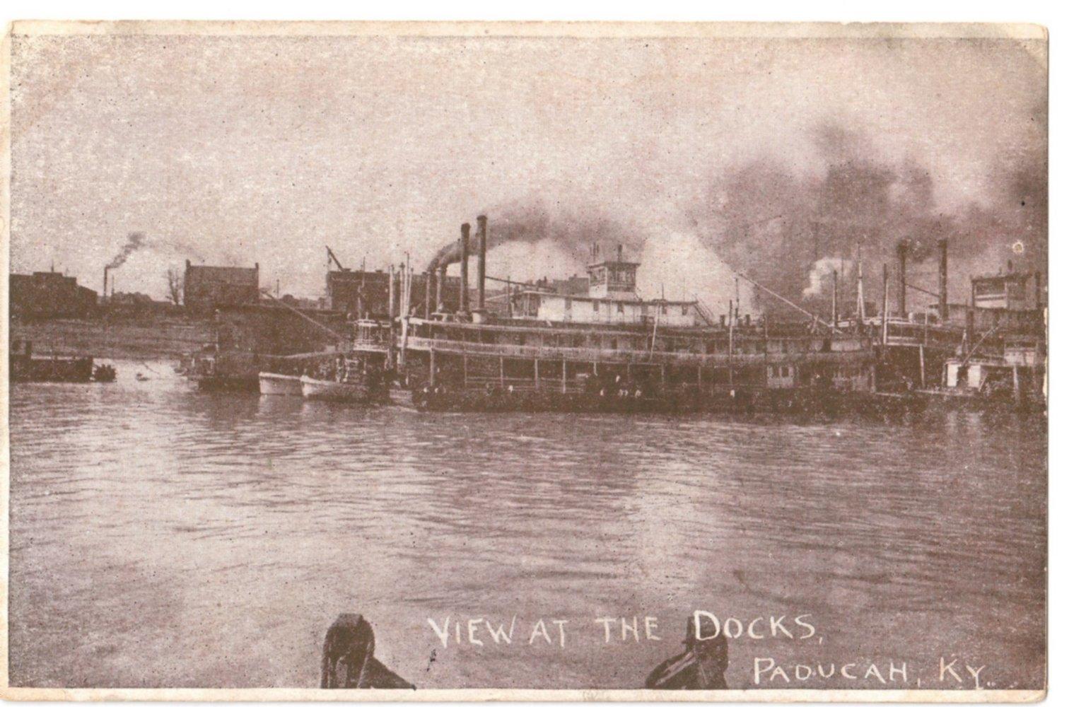 View at the Docks, Paducah, KY