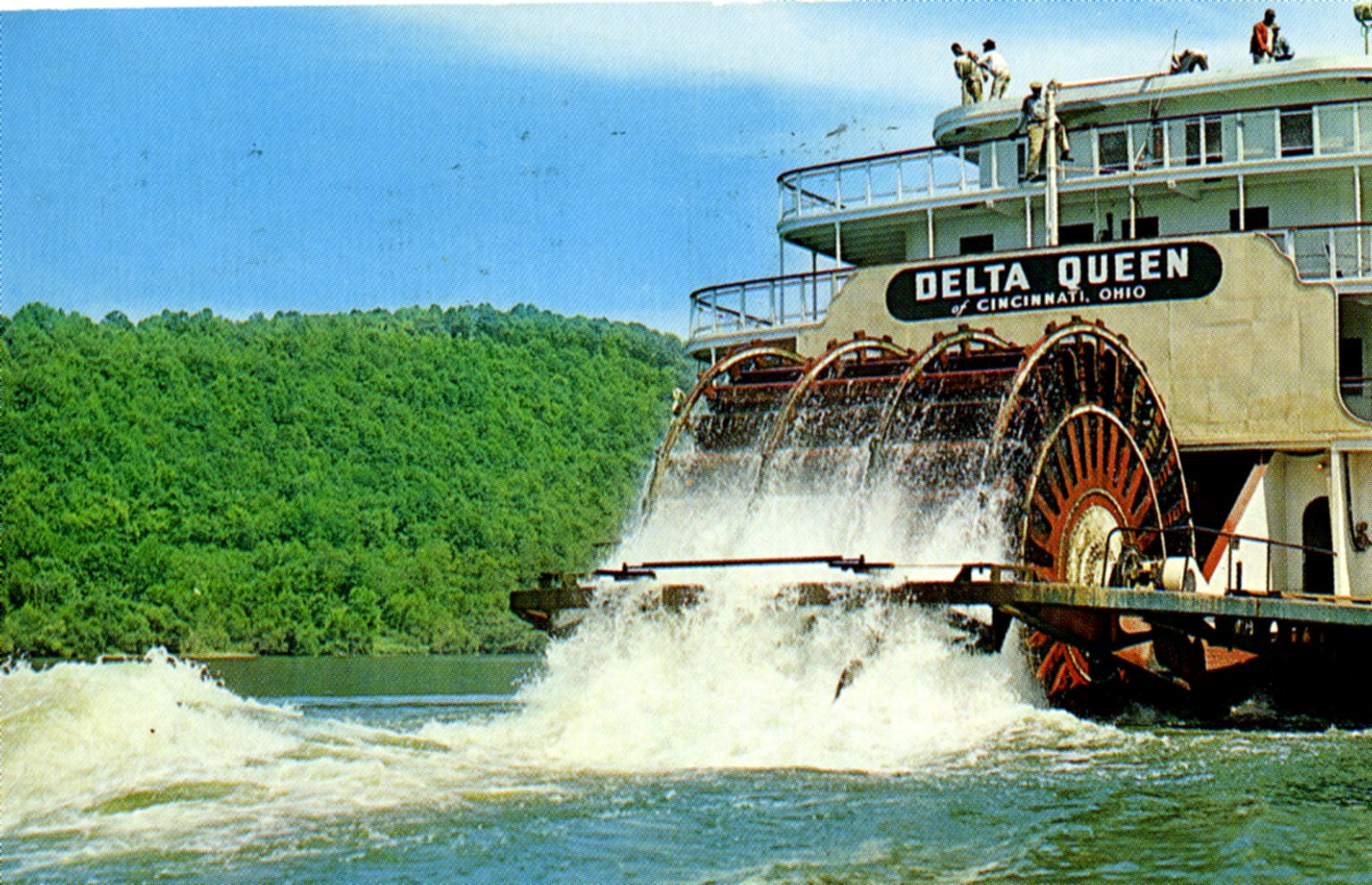 Delta Queen of Cincinnati, Ohio