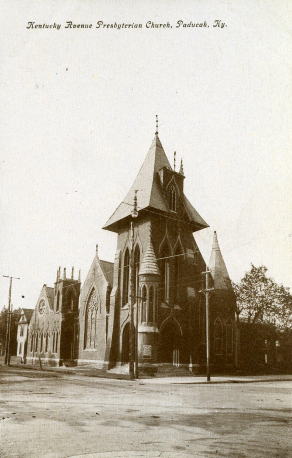 Kentucky Ave Presbyterian Church, Paducah, Ky.