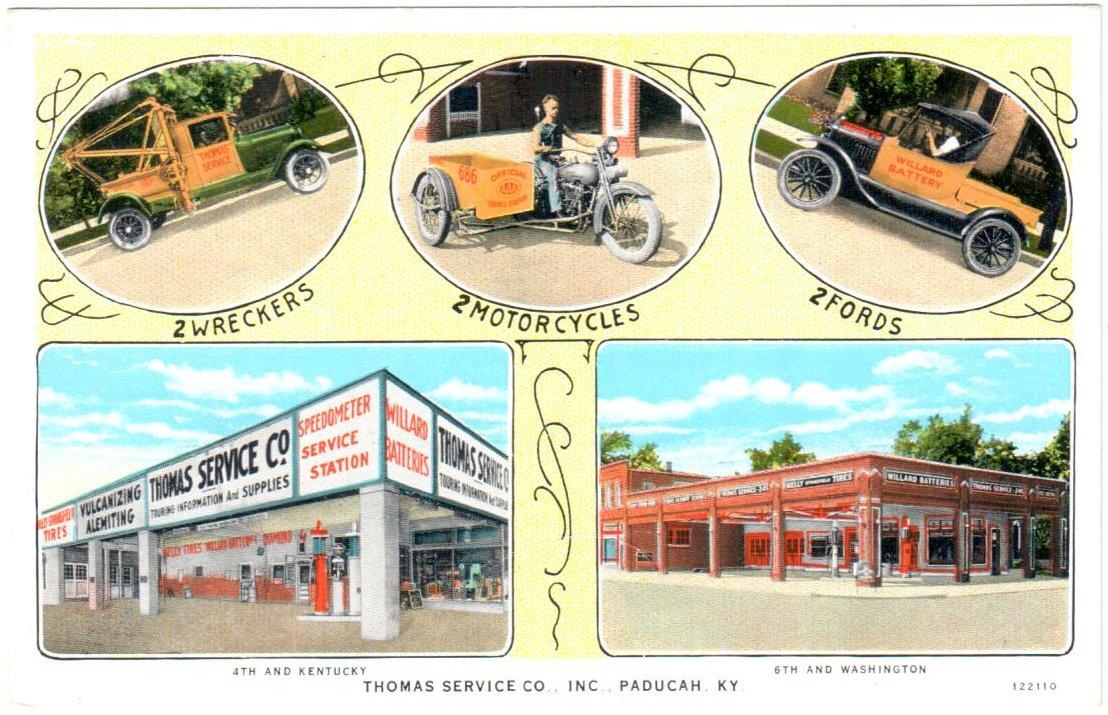 Thomas Service Co.,Inc.,Paducah, KY.