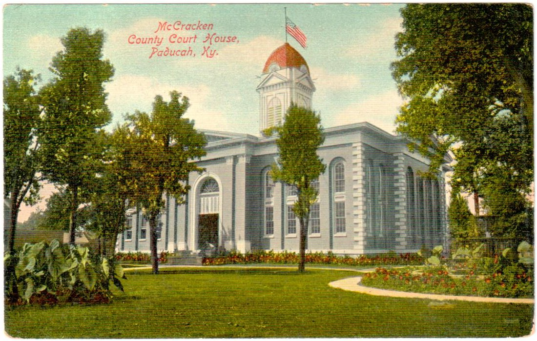 McCracken County Court House, Paducah, KY.