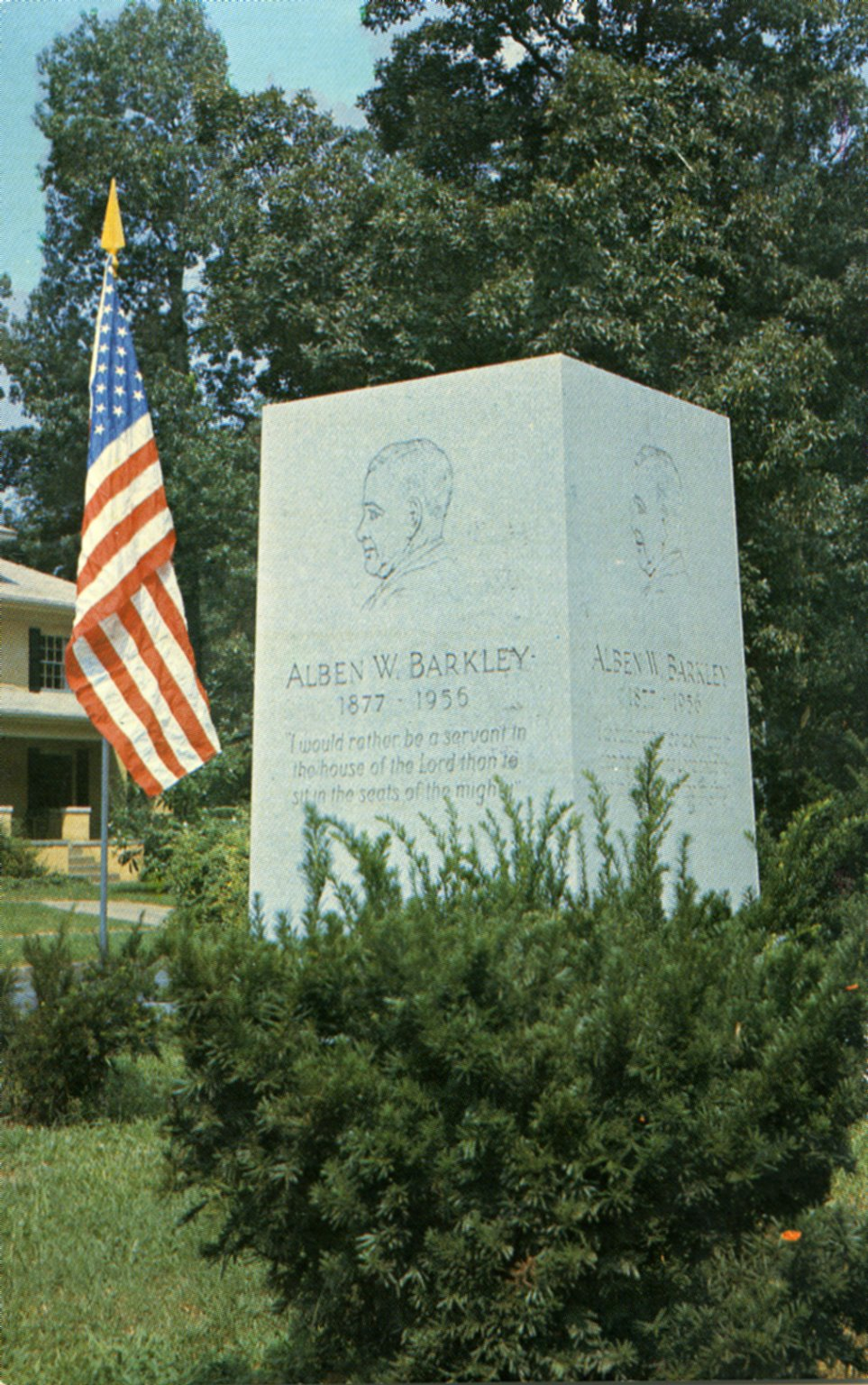 Alben W. Barkley Memorial, Paducah, KY.