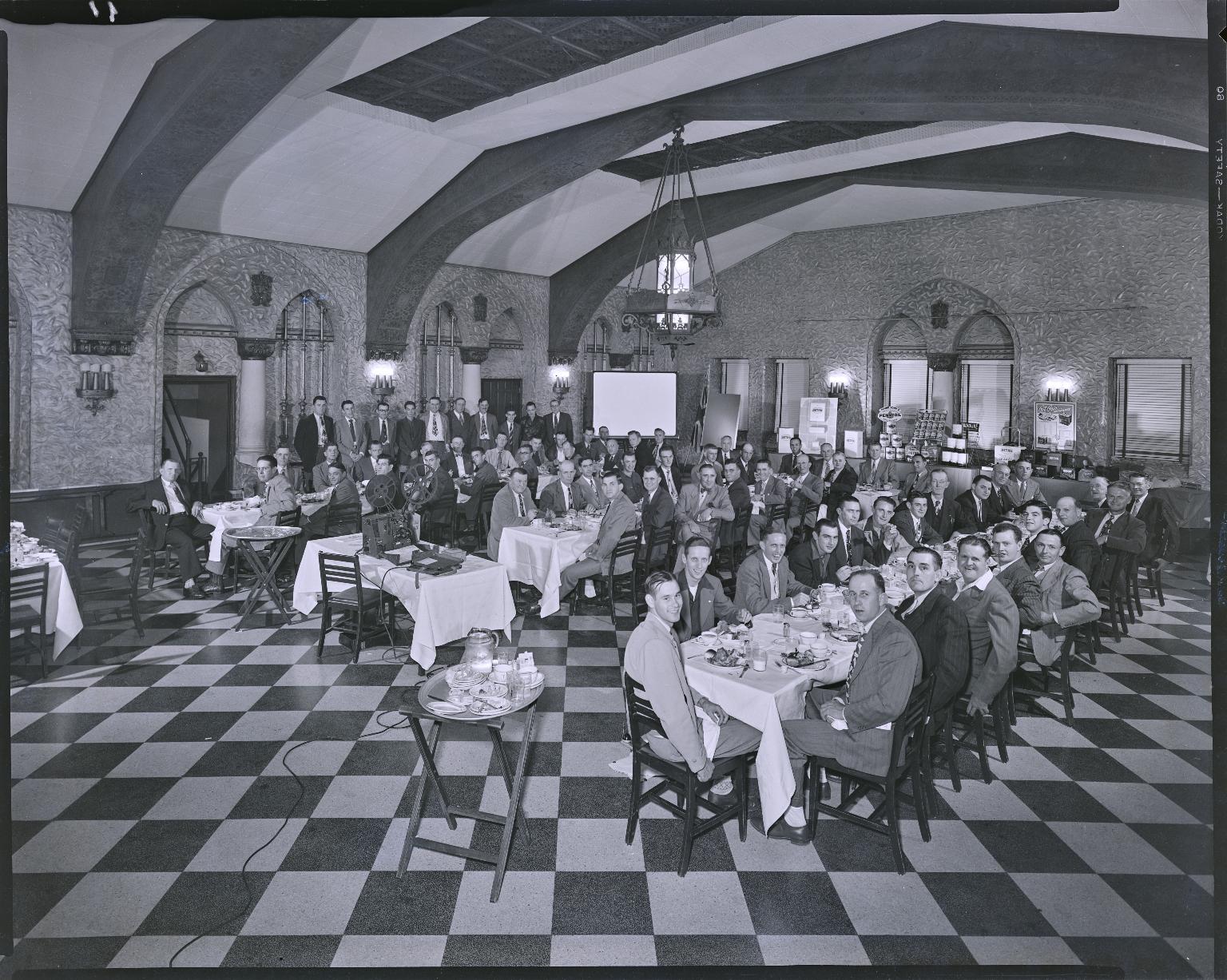 Aetna Oil Banquet