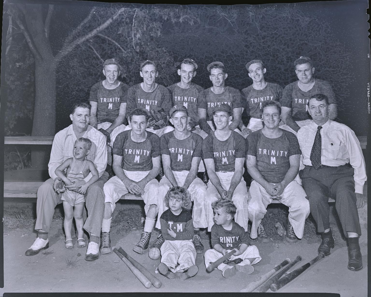Trinity Methodist Baseball Team