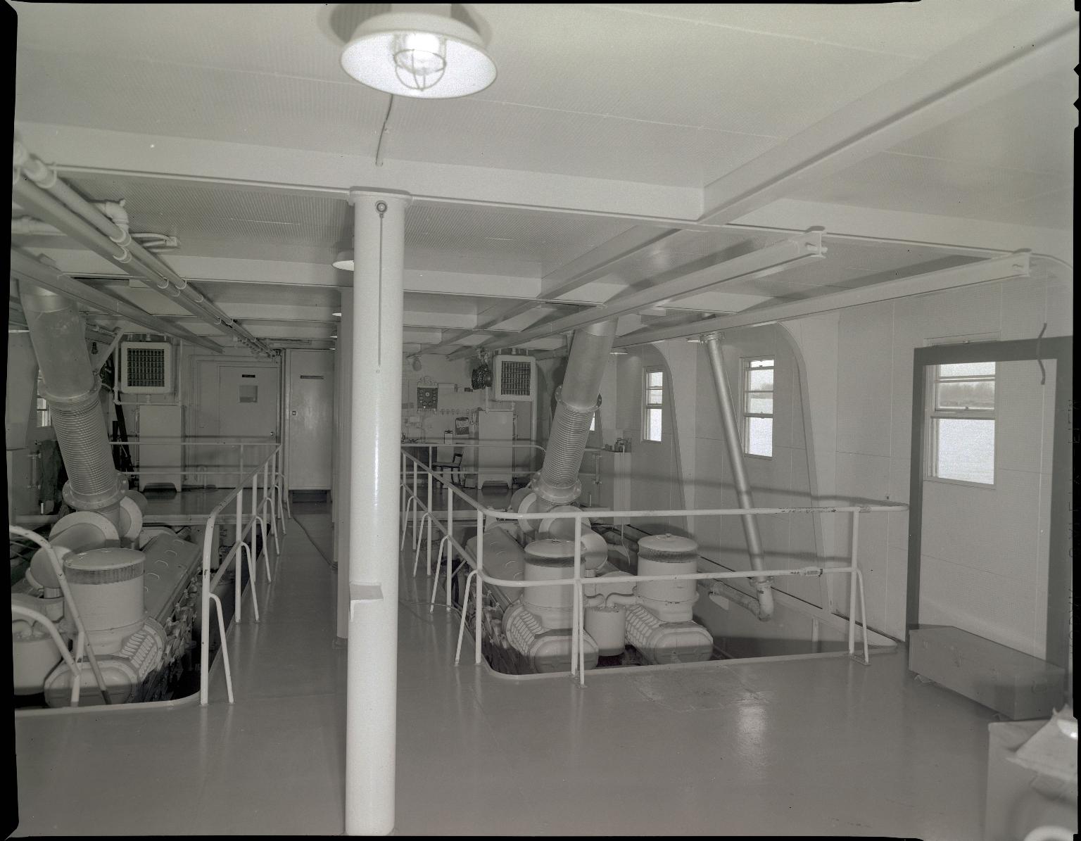 M.V. Stanton K. Smith Engine Room